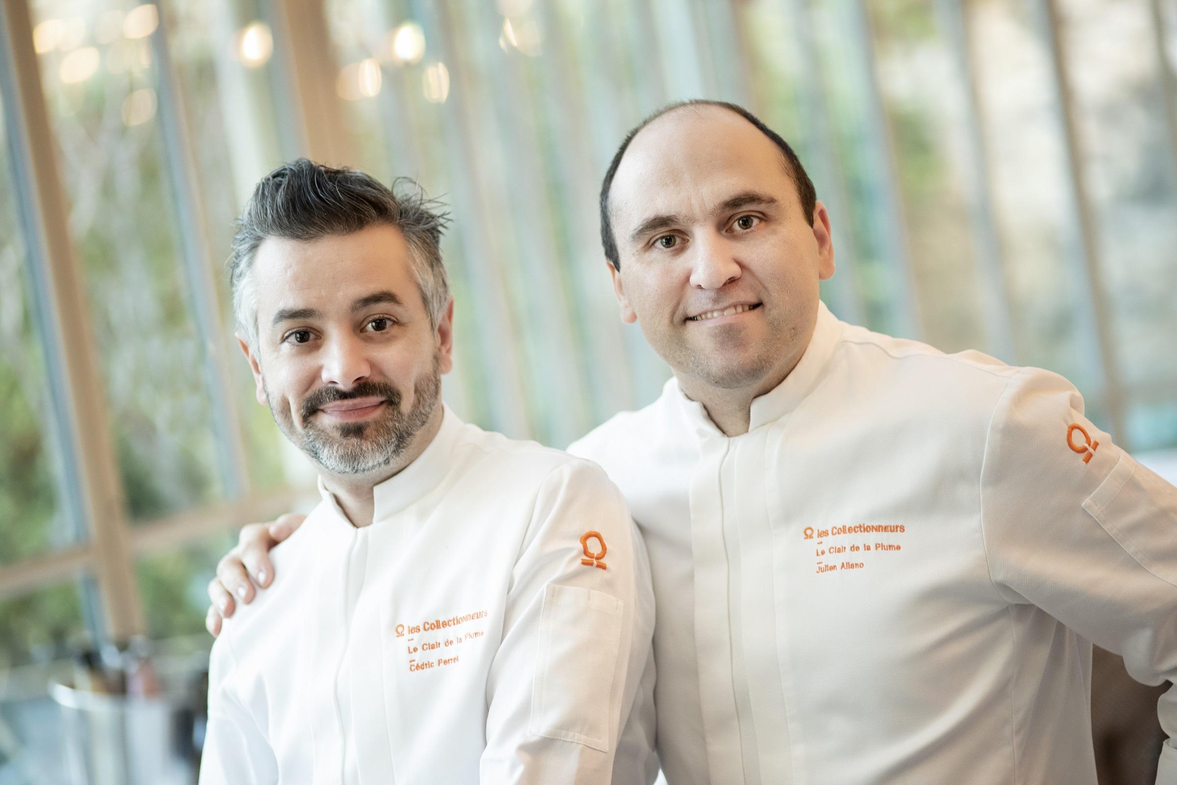 Julien Allano chef de cuisine restaurant clair de la plume